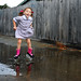 why not.  puddles were there.  school uniforms can be washed. by sesame ellis