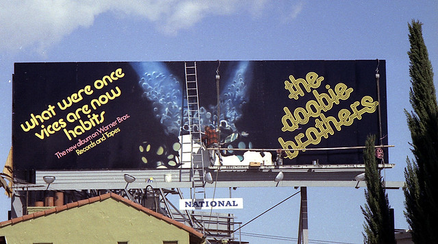 Billboards on Sunset Blvd. #9