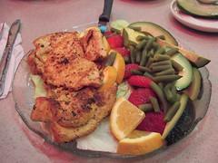 steak(0.0), fish(0.0), pork chop(0.0), produce(0.0), meal(1.0), lunch(1.0), breakfast(1.0), fried food(1.0), meat(1.0), schnitzel(1.0), food(1.0), dish(1.0), cuisine(1.0),