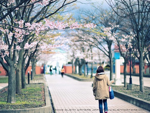 Campus life. © Glenn E Waters  (Explored). Over 2,700 visits to this photo.  Thank you. 弘前学院大学 Hirosaki Gakuin Daigaku.