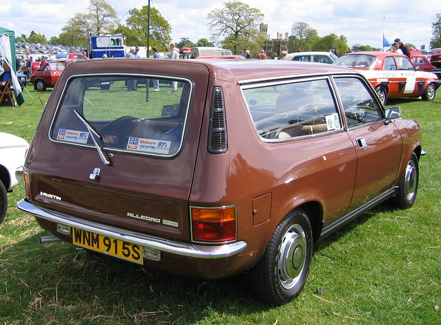 Austin Allegro Estate In A Nice Brown Colour Flickr