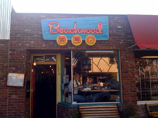 Beachwood BBQ - great Q and microbrews in Seal Beach