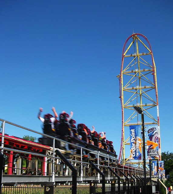 Top Thrill Dragster at Cedar Point | Flickr - Photo Sharing!