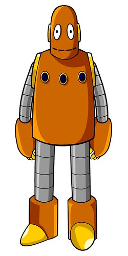 Moby the Robot from BrainPOP UK