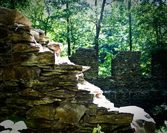 Sope Creek Wall
