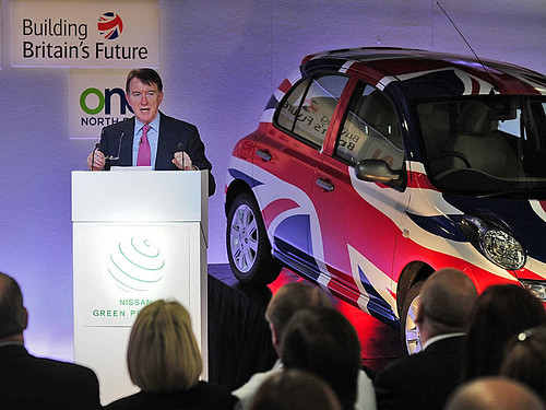 Lord Mandelson in Sunderland on BBF Roadshow