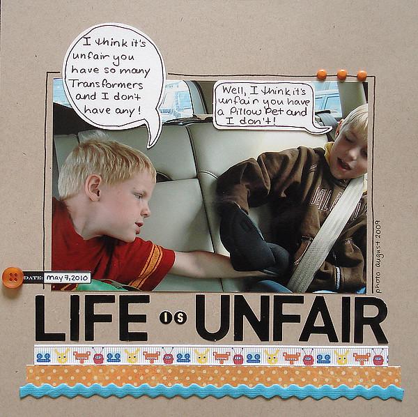Life Unfair