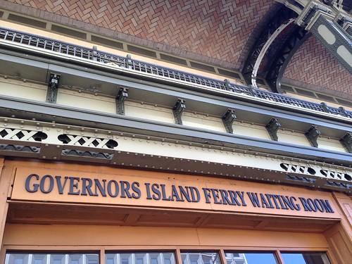 Governors Island Ferry, NYC. Nueva York