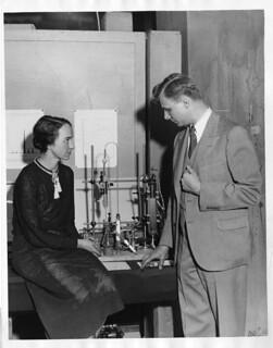 Marion Langhorne Howard Brickwedde (1909-1997) with Ferdinand G. Brickwedde (1903-1989)
