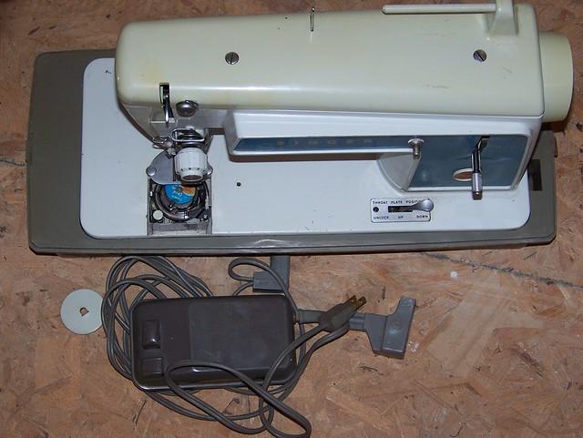 vintage singer sewing machine power cord