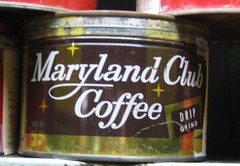 Maryland Club Coffee Tin