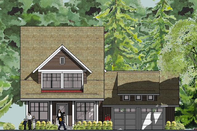 Bayport Bungalow House Plan Front Elevation | Flickr ...
