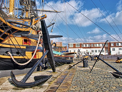 HMS Victory - Admral Lord Nelson's Ship