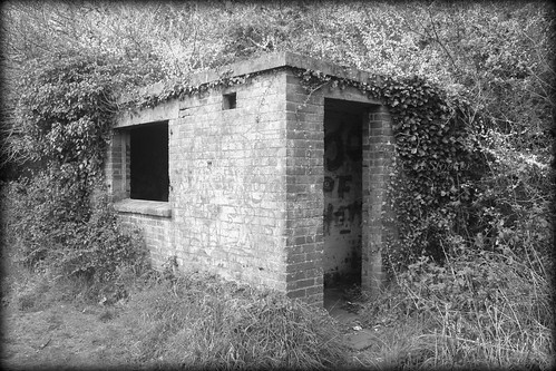Old Railwayman's Hut, Newham Trail by Stocker Images