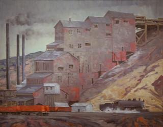 At Madrid Coal Mine, New Mexico