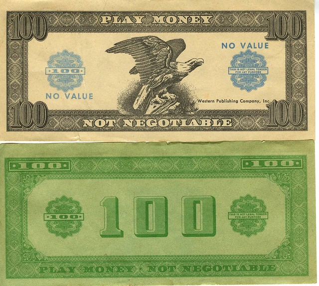 Play Money from Flickr via Wylio