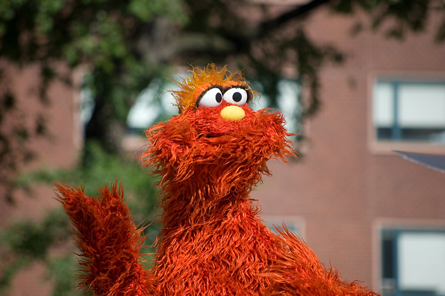 Murray Monster From Sesame Street In Union Square Flickr