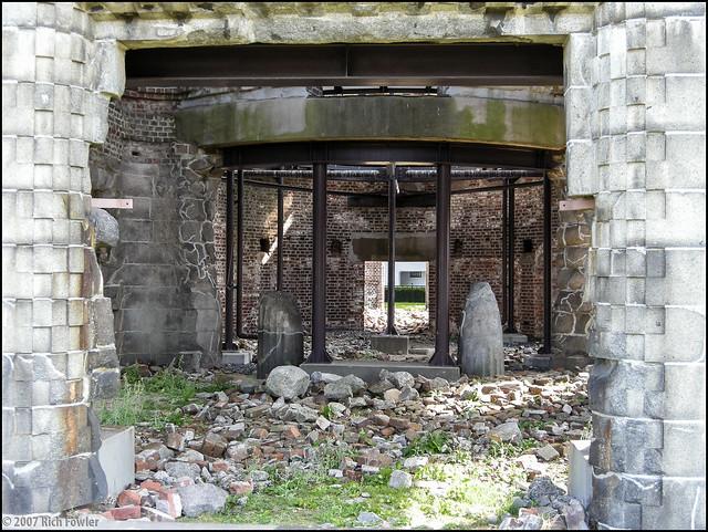Genbaku Dome-- Interior shot