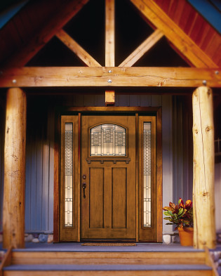 Grand Craftsman Entry With Jeld Wen Exterior Door Flickr