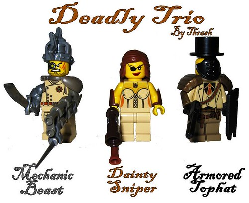 Steampunk Deadly Trio