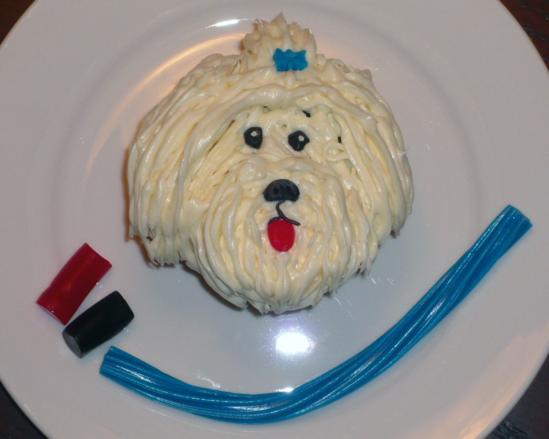 Dog Face Cake Ideas and Designs