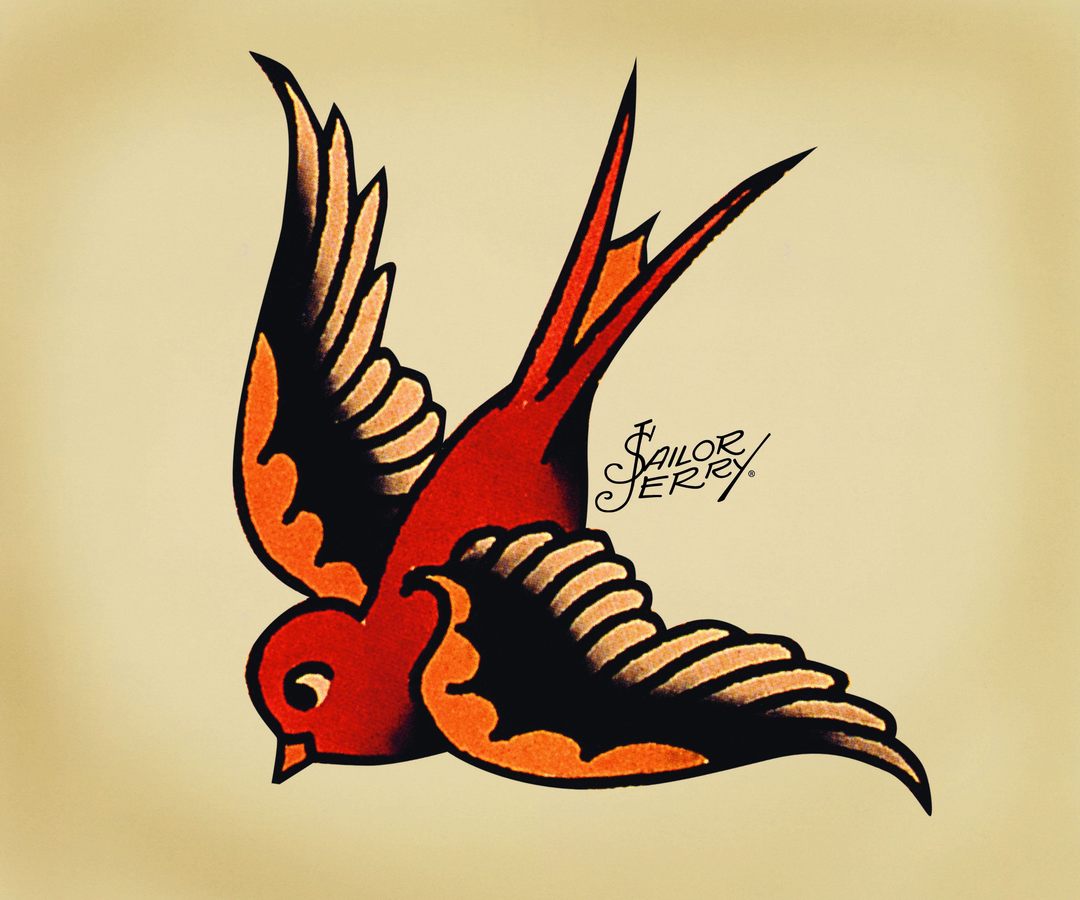 sailor jerry swallow flickr photo sharing. Black Bedroom Furniture Sets. Home Design Ideas