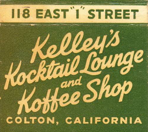 Kelley's Kocktail Lounge by jericl cat