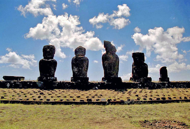 Ahu Vai Uri - Easter Island