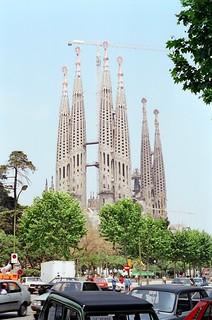 .20. //60g/6c/667/2.f - Iglesia de La Sagrada Familia - Barcelona 1987
