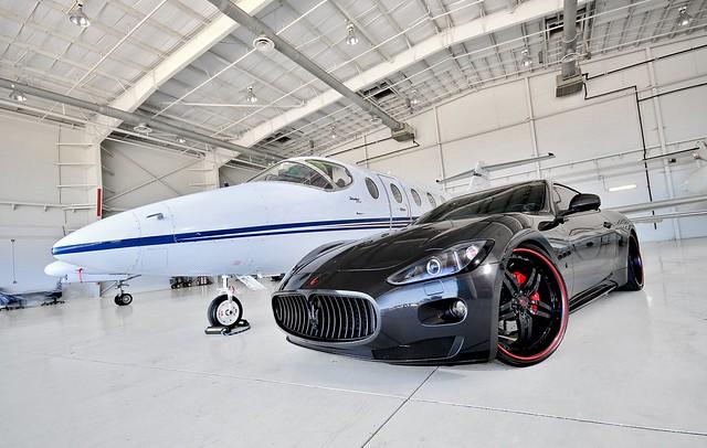 "Maserati Gran Turismo on 22"" Brava's"