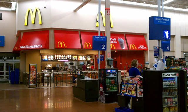 Wal Mart Duff Ave Ames Iowa 24 Hour Mcdonald S
