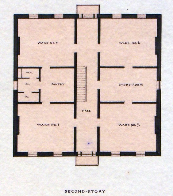 Governor 39 S Island Ny Old Post Hospital Second Floor Plan