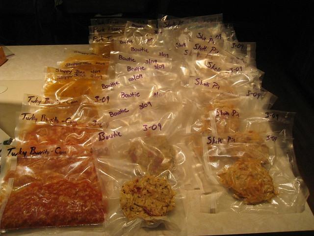 Foodsaver bags - My Saturday afternoon