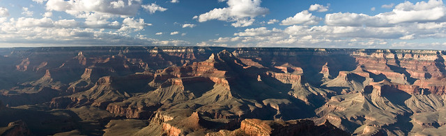 Grand Canyon, Shoshone point (panorama)