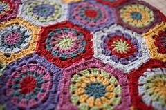 Hexagon Blanket (3)