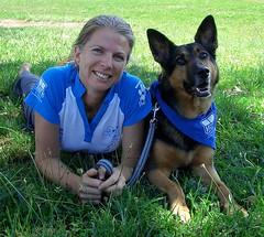 puppy(0.0), german shepherd dog(1.0), animal(1.0), dog(1.0), pet(1.0), mammal(1.0), police dog(1.0), lawn(1.0),