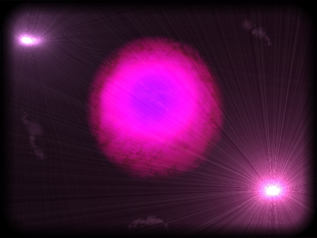 purple and blue planets - photo #16