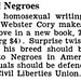 Homosexuals Want To Be Considered Minority In America and Defended By ACLU - Jet Magazine November 1, 1951