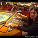 Ivana plays the horses, Las Vegas