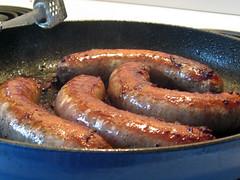 sausage(1.0), frankfurter wã¼rstchen(1.0), italian sausage(1.0), vienna sausage(1.0), sujuk(1.0), boudin(1.0), longaniza(1.0), boerewors(1.0), food(1.0), dish(1.0), weisswurst(1.0), cuisine(1.0), breakfast sausage(1.0), kielbasa(1.0), bratwurst(1.0),