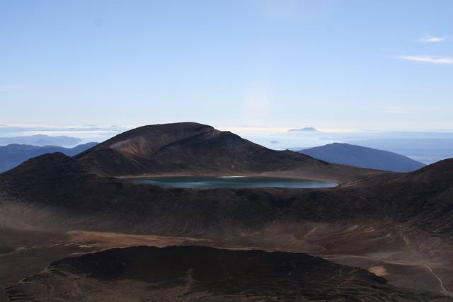 Lago Azul. Parque nacional de Tongariro. Nueva Zelanda