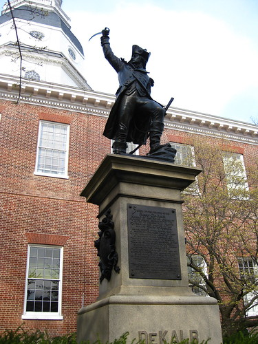 DeKalb statue