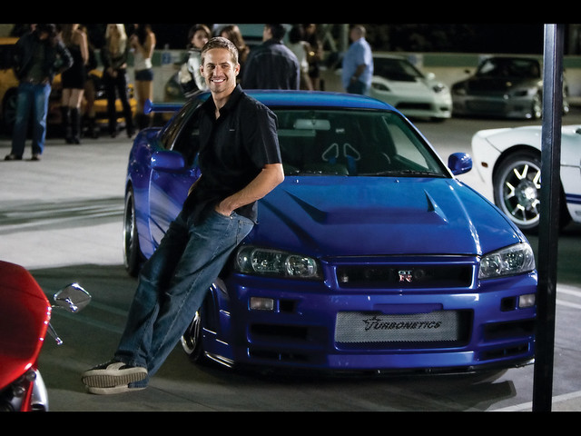 Fast & Furious: Paul Walker with Nissan Skyline