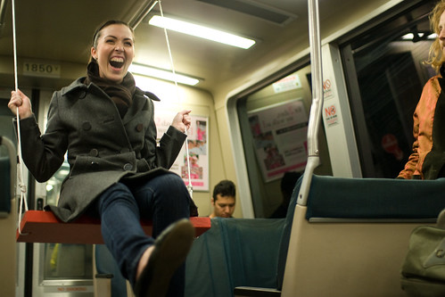 swings on BART
