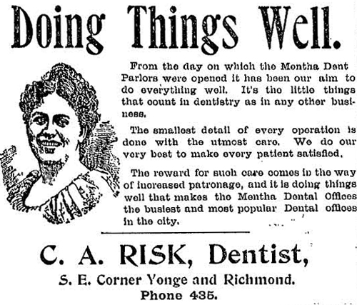 Vintage Ad #811: Doing Things Well
