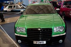 automobile(1.0), automotive exterior(1.0), vehicle(1.0), automotive design(1.0), auto show(1.0), chrysler 300(1.0), chrysler(1.0), sedan(1.0), land vehicle(1.0), luxury vehicle(1.0), vehicle registration plate(1.0),