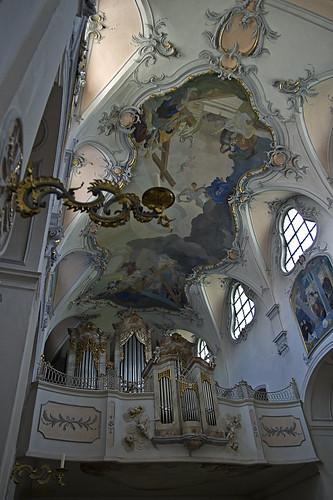 bayern bavaria kirche kloster mönch klosterkirche scheyern klosterscheyern
