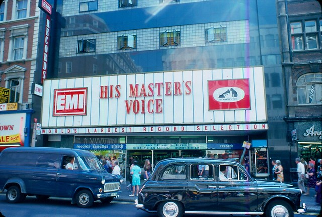 1976 - London - Oxfordstr. - HMV
