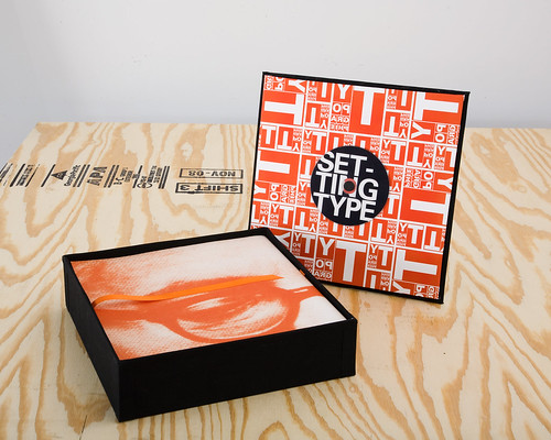 Typography: Book In A Box project