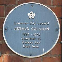 Photo of Arthur Colahan blue plaque